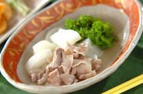 豚バラ肉と大根の塩煮