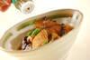 イカと揚げナスの煮物の作り方の手順8