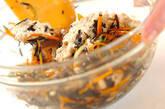 芽ヒジキのナッツ白和えの作り方4