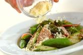 アスパラのホットサラダの作り方2