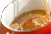 麩とワカメのかきたま汁の作り方2