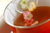麩とワカメのかきたま汁の作り方3