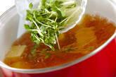 卵豆腐のお吸い物の作り方6