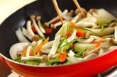牛肉のソース炒めの作り方7