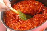 トマトソースの作り方2