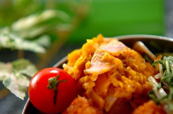 カボチャサラダ