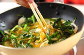 ニラジャコ卵炒めの作り方3