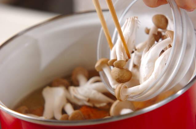 シシトウの煮びたしの作り方の手順4