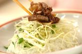 炒め牛肉のせご飯の作り方4