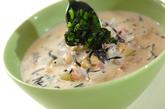 ヒジキと大豆のミルクスープの作り方4