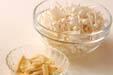 エノキのみそ汁の作り方の手順1