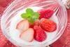 イチゴヨーグルトの作り方の手順