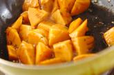 水煮タケノコのピリ辛炒めの作り方2