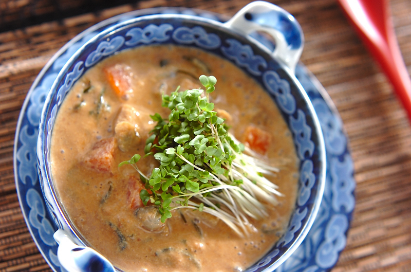 5. シジミの豆乳スープ