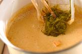 シジミの豆乳スープの作り方4