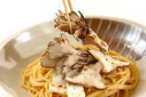 焼きキノコのスープパスタの作り方5