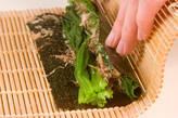 ほうれん草の磯辺巻きの作り方4