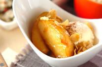 リンゴの甘煮デザート