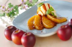 リンゴのキャラメリゼ