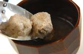 つみれのおろし汁の作り方2