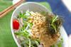 シャッキリ大根のサラダの作り方の手順