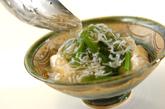 小松菜と豆腐のシラスあんかけの作り方3