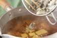 カキの吸い物・ショウガ風味の作り方2