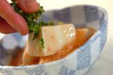 豆腐のタラコあんかけの作り方6