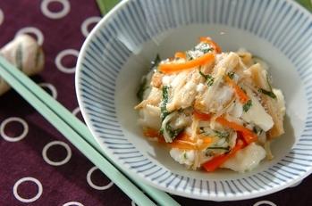 エノキと長芋のサラダ