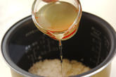 ヒジキと豆の炊き込みご飯の作り方5