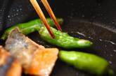 鮭の照り焼きの作り方2
