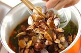 アサリのキムチスープの作り方3