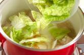 肉団子のスープ煮の作り方3