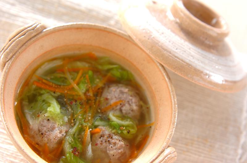 6. 肉団子のスープ煮