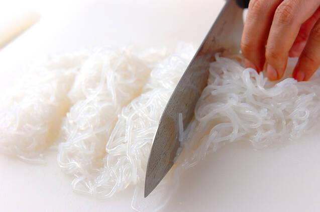 糸コンのきんぴらの作り方の手順1