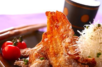 豚肉のヒラヒラ揚げ