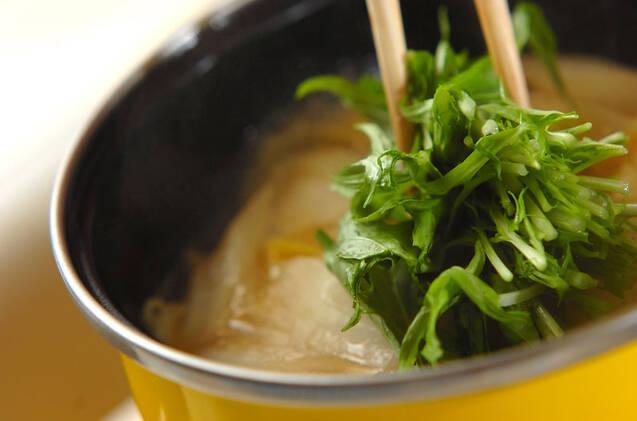 厚揚げと野菜の煮物の作り方の手順7