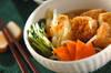 厚揚げと野菜の煮物の作り方の手順