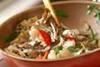マイタケの中華炒めの作り方の手順11