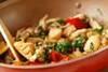 マイタケの中華炒めの作り方の手順12