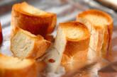 ひとくちガーリックトーストの作り方4