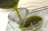 粒あん寒天と抹茶ゼリーの作り方5