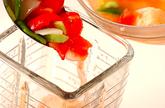 トマトのガスパチョの作り方2