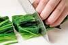 ほうれん草のゴマ和えの作り方の手順3