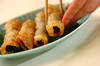 納豆のサクサク揚げの作り方の手順3
