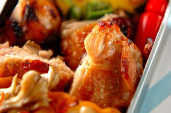 チキンのグリル焼き