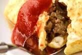 ひき肉オムレツ