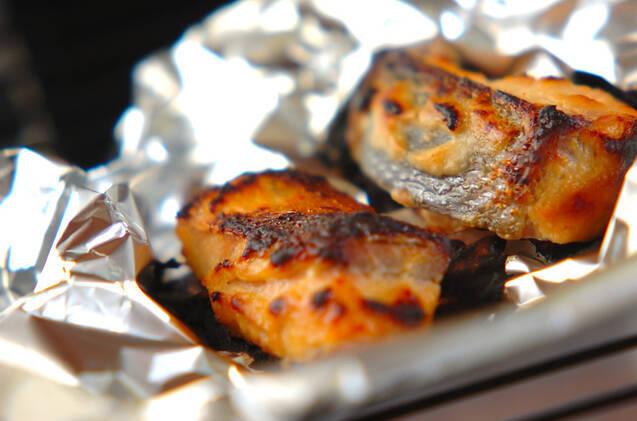 鮭のみそ焼きの作り方の手順2