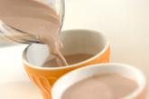 チョコバナナプリンの作り方2