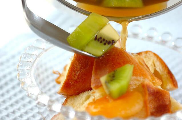 ブリオッシュのフルーツとヨーグルトの作り方の手順5